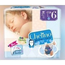 PAÑAL CHELINO FASHION & LOVE T6 (17-28KG) 27 UDS