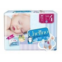 PAÑAL CHELINO FASHION & LOVE T4 (9-15KG) 34 UDS
