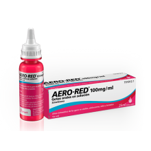 AERO RED 100MG/ML GOTAS ORALES 25ML