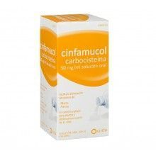 CINFAMUCOL CARBOCISTEÍNA 50MG/ML SOLUCIÓN ORAL 200ML