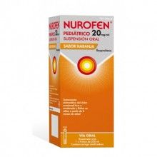 NUROFEN PEDIÁTRICO 20MG/ML SUSPENSIÓN ORAL SABOR NARANJA