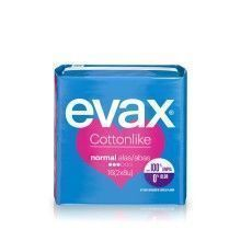 COMPRESA EVAX COTTONLIKE NORMAL C/ALAS 16U