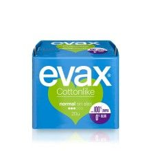 COMPRESA EVAX COTTONLIKE NORMAL 20U