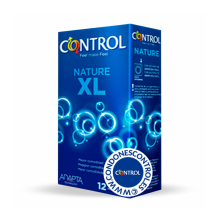 CONTROL ADAPTA NATURE XL 12 UNIDADES